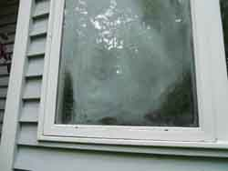 failed window seal, home inspection seattle