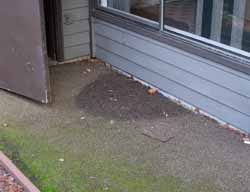 Reverse grade, home inspection seattle