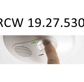 Wa State CO detector law