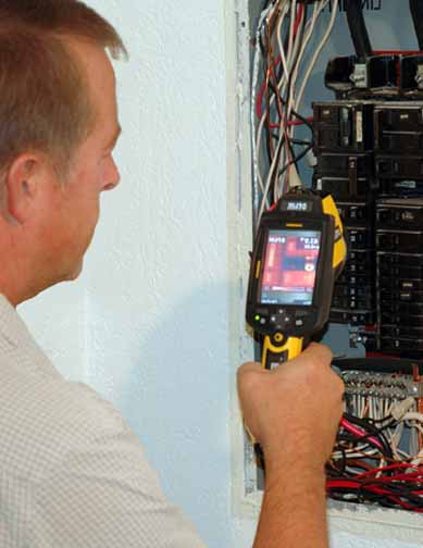 infrared inspection, issaquah home inspector